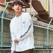 PONY ポニー ロングTシャツ 長袖 メンズ ユニセックス USAコットン 米綿 プリント ロゴ 刺繍 ビッグシルエット オーバーサイズ ストリート カジュアル