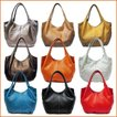 レディースバルーンバッグ たっぷりLサイズ プレーンタイプ ソフトレザーママバッグ