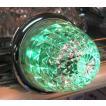 YAC CE-104 流星LEDミリオンマーカーランプ クリアレンズLEDグリーン 24V用