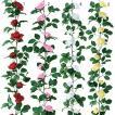 薔薇 バラ ばら 造花 ツタ 蔦 フレンチローズガーランド(10/9) FLGA7708