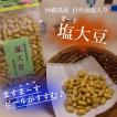塩大豆 豆菓子 沖縄県産自然海塩入り お酒のおつまみに