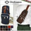 【30】Orobianco/オロビアンコ ボディバッグANNIBALE-F 全9色 メンズ/ショルダー