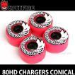 スピットファイヤー チャージャー コニカル 【SPITFIRE 80HD CHARGERS CONICAL】 スケートボード ソフト ウィール SKATE カラー:Pink