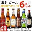 海外ビール飲み比べ6本セットB 6種類 飲み比べ 輸入ビール 送料無料