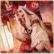 Fate Grand Order コスプレ 茨木童子 風 和服 いばらきどうじ フェイト グランドオーダー コスプレ衣装 FGO 演出服 アニメuw460