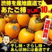 あたご柿 約10kg 枝付渋柿 干し柿 つるし柿 あん...