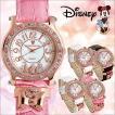 腕時計 ディズニー Disney ミニー レディース 本牛革 革  ウォッチ