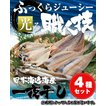 日本海産一夜干しセット(送料無料)