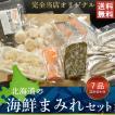 北海道の海鮮セット 7種 詰め合わせ ギフト 送料無料 お刺身 サーモン ほたて お取り寄せ 福袋 海鮮 本ししゃも 鱗幸食品