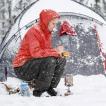 【NatureHike】耐寒温度-15度 前開きダウンパンツ 250gと超軽量 前開ファスナー ウエスト紐 ボタン付きメンズ レディス 防寒着 暖パンツ アウトドア