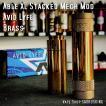 AV Avid Lyfe Able XL Stacked Mech Mod [Brass] Stack set/ アヴィッドライフ エーブル メック モッド *USA正規品* VAPE