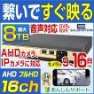 防犯カメラ 録画機 16ch AHD 最大 8TB HDD