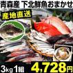 魚介 青森産 下北鮮魚おまかせセット 3kg1組 冷蔵 食品