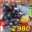 ぶどう 青森産 スチューベン 2kg  葡萄 ブドウ 果物 国華園