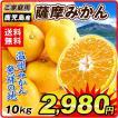 みかん 鹿児島産 薩摩みかん(10kg)1箱 さつま 蜜柑 柑橘 果物 フルーツ 食品 国華園