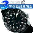 SEIKO MECHANICAL セイコー メカニカル メンズ自動巻腕時計 アルピニスト アウトドアウォッチ ブラックダイアル×ブラックレザーベルト SARB061 正規品