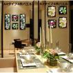壁飾り 観葉植物 お花壁飾り 壁掛けインテリア ウォールディスプレイ フェイクグリーン 光触媒 壁面飾り オーナメントパネル  hn8