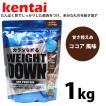健康体力研究所 健体 ケンタイ kentai ウェイトダウン ソイプロテイン ココア風味■1kg