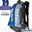 DUKE ケイジャー 壁画グラフィティ ブルー 40-007 バスケットボール バッグ デューク スポーツ バスケ用バックパック リュック スポルディング CAGER 40-007DKG