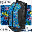 SPALDINGケイジャー キースヘリング リュック ブルー バスケットボールバッグ スポルディング40-007KHBL