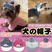 犬 猫 帽子 キャップ ペット 服 犬の帽子 カジュアル ポンポン