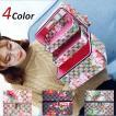 4color!メイクボックス コスメボックス 鏡付き 雑貨 小物入れ 持ち運び可 ネイル プロ 美容 大容量 アクセサリー 収納 化粧品