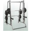 (動画参照)(パワーラック)Bodysolid ボディソリッド スミスマシン&ハーフラック GS348Q(ペックディックとラットマシンを後付け可能)