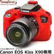 ジャパンホビーツール X90-RE イージーカバー Canon EOS Kiss X 90用 レッド 【送料無料】
