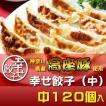 餃子 ぎょうざ 幸せ餃子(中)120個セット 神奈川県産「高座豚」使用 約3.8kg