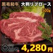 【2020新商品】黒毛和牛 大判リブロース 500g BBQ 焼肉