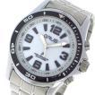 グルス GRUS ボイス電波腕時計 ソーラー トーキングウォッチ クオーツ  GRS004-01 ホワイト/シルバー ホワイト