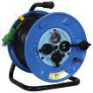 防雨ELB付ドラムー30m 日動 電工ドラム・コード 電工ドラム・30M