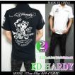 エドハーディー ポロシャツ メンズ ED HARDY 半袖 刺繍/ライダー/スカル/USA