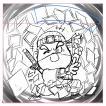 トリプルシール(紙×紙「紫外線あり」×金もしくは銀)スーパーわくわく 増刷商品(追加300枚印刷)