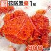 特大 花咲蟹 姿 6尾|5.0kg