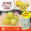 幻の柑橘使用「げんこう飴」 お得な5袋セット(420円/袋)