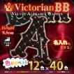 ヴィクトリアンBB 名入れ ベルベット ふち刺繍オーダー アルファベット アイロン接着ワッペン/スタジャン、パーカー、トレーナーに