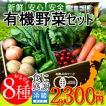 日本の有機野菜セット 旬のおまかせ8種類 全国ご当地生産者のこだわり有機栽培 ベジタブル スムージー 野菜材料 通販 人気 ギフト