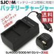 バッテリーチャージャー 2個同時充電 バッテリーパック AC シガーソケット アクションカメラ ALW-SJ-CHARGER2