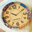 壁掛け電波時計 ウォールクロック Ruler&Ruler ルーラールーラー cl-9584