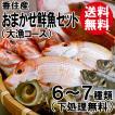 おまかせ鮮魚セット 大漁コース 高級魚1種類+5〜8種類 送料無料 海鮮ギフト 詰め合せ 日本海の鮮魚 鮮魚ボックス 鮮魚BOX 下処理 お取り寄せ 産地直送 ギフト