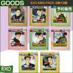 8種選択 / EXO MINI PACK 2枚x3個 / EXO x NATUREREPU...
