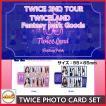 TWICE PHOTO CARDSET  [TWICE 2ND TOUR TWICELAND Fantasy Park GOODS] 公式グッズ