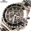送料無料(沖縄・北海道は除く)TTECHNOS(テクノス) クロノグラフ ステンレス/セラミック腕時計 T3032TB