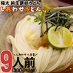 送料無料 本場 讃岐 純生 うどん 9食 ポイント消化 太...