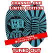 フラットスキム ランド Kayotics カヨティックス 2018「Channel-One」LIMTED EDTION「TUNDE OUT」 Size:99.5cm×49.5cm デッキテープ付