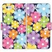 Flower 手帳型 スマホケース iPhone7 iPhone6s Plus Xperia 全機種対応