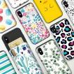 iPhone11 ケース iphone8 ケース アイフォンxrケース galaxy s10 plus ギャラクシー s10 TPU バンパー Bumper 耐衝撃 カード入れ マット スマホケース