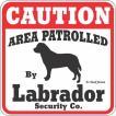 Caution sign【ラブラドールレトリーバー】 コーションサインボード