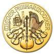 ウィーン金貨 1/25オンス 2018年 クリアケース入り オーストリア造幣局発行 1.24gの純金 24金 保証書付き